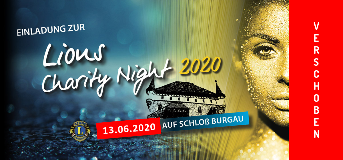 Lions Charity Night 2020